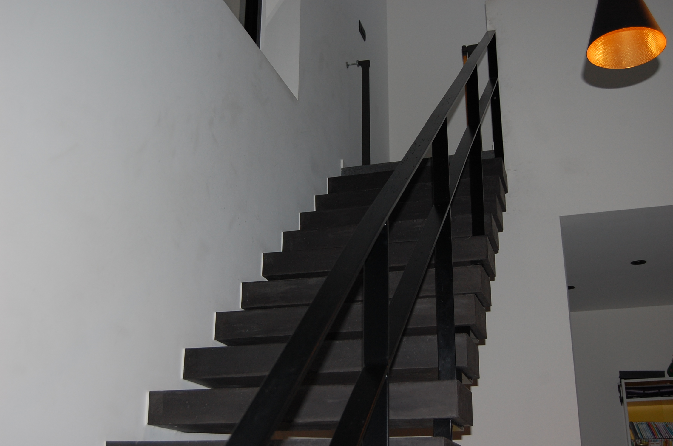 Liv-art - staalwerken - trapleuning