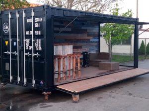 Liv-art - Tuinbar zeecontainer